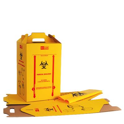 Cutii Carton Deseuri Medicale