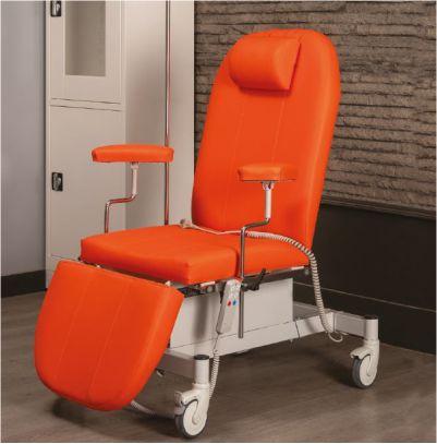 scaun pentru recoltare sange
